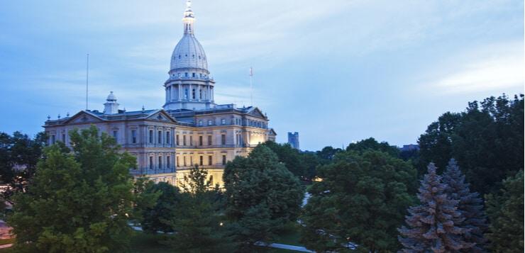 Michigan statehouse