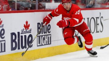 red wings player