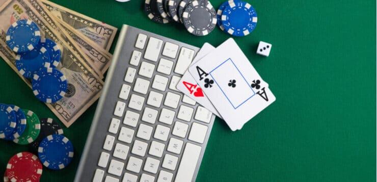 poker chips keyboard