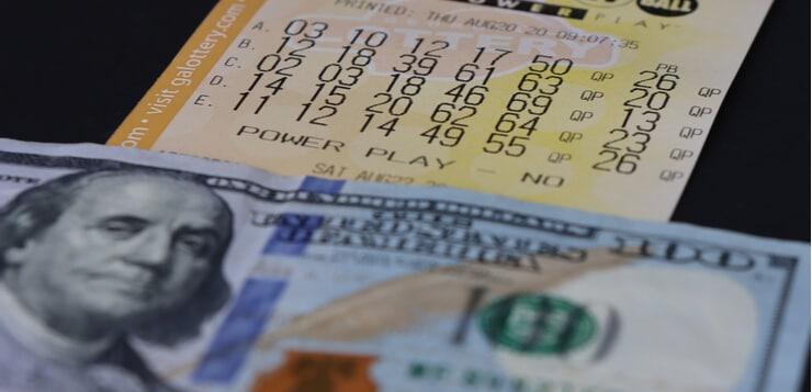 Michigan lottery ticket